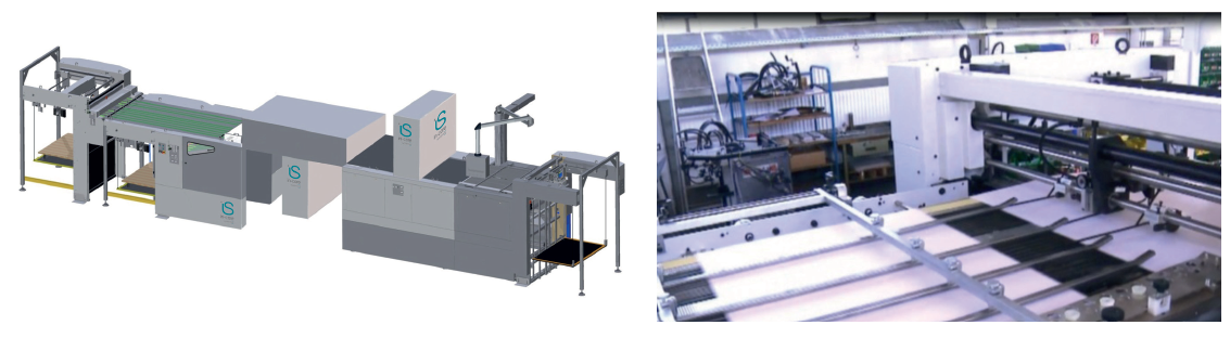 sheet to sheet process automatic inspection and sorting