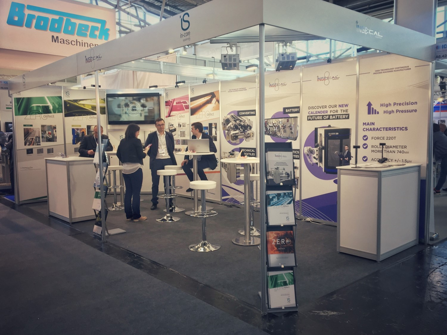 in-core systèmes at ICE Europe 2019